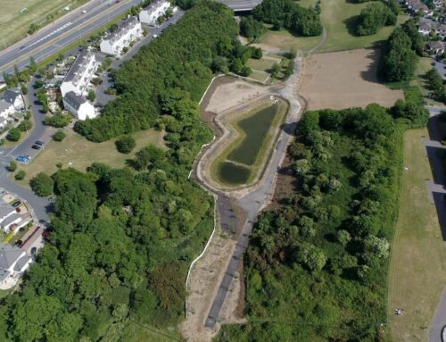 Attenuation Pond & Foul Sewer Diversion, Druid Valley