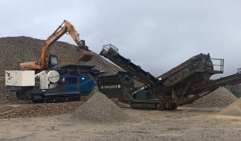 Mobile Crusher for Hire